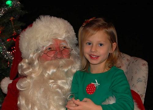 Hannah & Santa