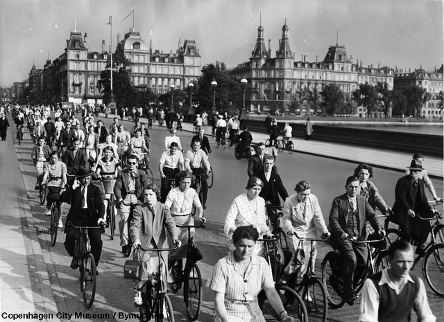 Copenhagen - Dronning Louises Bridge 1930s