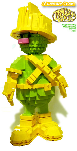Fraggle Rock Doozer in LEGO