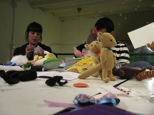 Stuffies workshop Dec. 4th at Duduá
