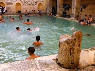 """Aquae Flavianae : La piscine regtangulaire """"Hammam essalhine"""" khenchela aures"""