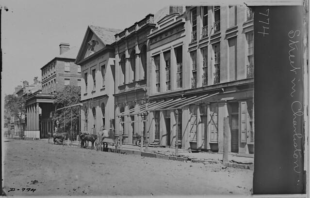 Charleston South Carolina - Street Scene by The US National Archives
