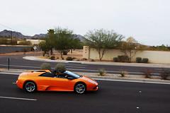 Lamborghini LP 640 (O'Connor Photo) Tags: show road arizona orange car awesome lp lamborghini 640