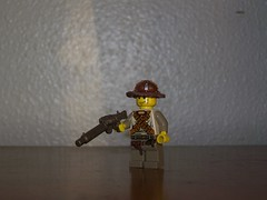 WWII British Soldier (The Skull Bandit) Tags: brick art apple movie for tv call arms lego duty ghost engine halo artsy will prototype microsoft amelia trans build cod nerf trade bionicle proto prototypes chapman protos mw2 brickarms mw1