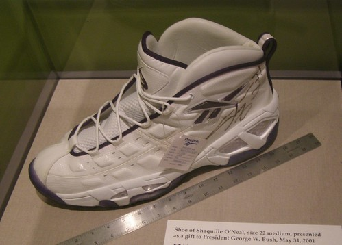 what size is shaquille oneal shoes. Shaquille O#39;Neal#39;s size 22
