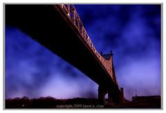 Queens Boro Bridge Study (jason a. cina) Tags: nyc newyork rooseveltisland 10044 jasoncina jasonacina jccina