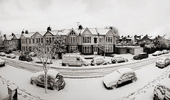 Panorama - snow in Southchurch - Explore Front Page (louisahennessysuou) Tags: panorama snow thames estuary essex southend southendonsea sigma2470mmf28 southchurch nikond700 travelsofhomerodyssey