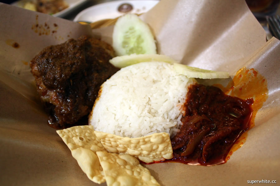 Old Town Nasi Rendang Chicken