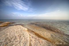 Sirmione's beach in  a December's day... (-Marci-) Tags: lake beach canon lago garda italia december sigma 5d dicembre 1224mm spiaggia sirmione manfrotto lakegarda mkii markii lagodigarda 1224mmsigma sigmaitalia 190cxpro4 canon5dmkii canon5dmarkii