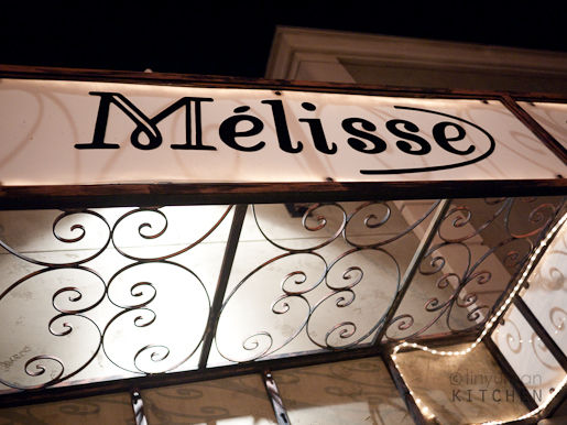 Melisse sign