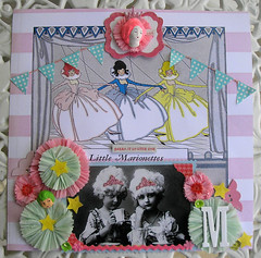 Sweet Marie Scrapbook Layout! 7