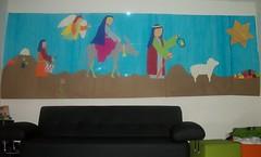 Camino de Belen (Raul Panqueva) Tags: navidad mural belen pesebre