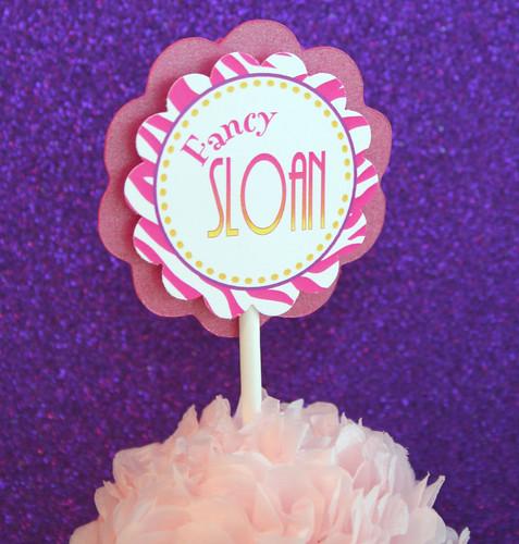 Fancy Nancy Cupcake 3
