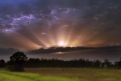 Brilliant rays (Arkanjel Imaging) Tags: sunset nature landscape potofgold naturesfinest winnerbc