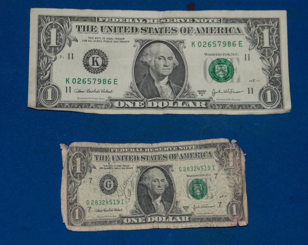yesterdays dollar vs. todays dollar