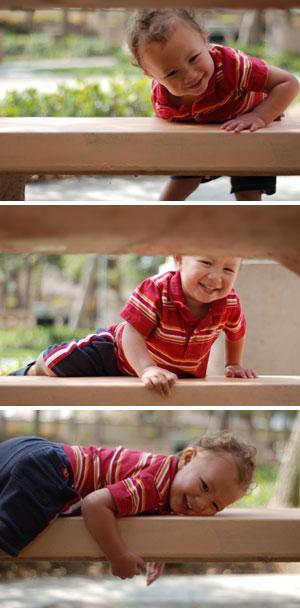 bench climber