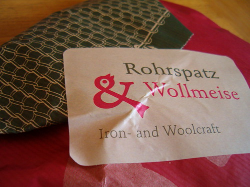 Wollmeise package