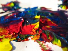mountains of colour (ion-bogdan dumitrescu) Tags: blue red orange white black color colour green colors yellow paint colours purple tempera bitzi ibdp img6490mod findgetty ibdpro wwwibdpro ionbogdandumitrescuphotography
