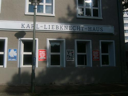 Karl Liebknecht Haus-home of Die Linke