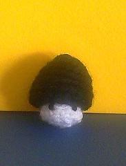 baby mush black (yellow bg)