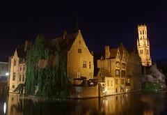 F*king Bruges (the bbp) Tags: houses night river lights town belgium belgique belgie fiume brugge case unesco bruges luci notte channel belfort canale città belgio colinfarrell beffroi thebbp aplusphoto sailsevenseas