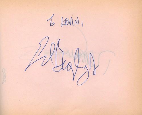 Ed Begley Jr Autograph