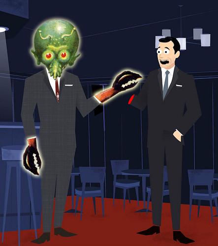 Really Mad men! Sci-Fi version.