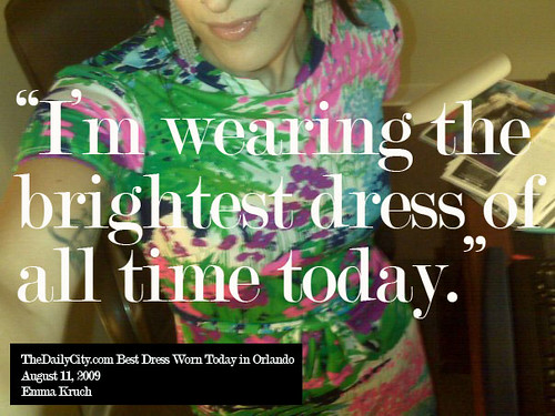 TheDailyCity.com Best Dress of the Day