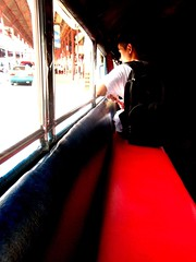 the lone passenger (life begins with 4t) Tags: travel red art beautiful canon student ride jeep philippines 1001nights jeepney marikina 4t philippinejeepney abigfave flickraward theunforgettablepictures concordians flickrestrellas worldtrekker yourcountry photokalye einseinszehn