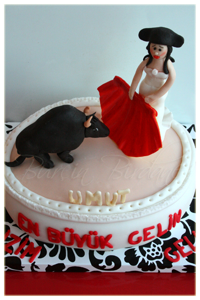 Bullfighting Cake