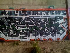 Dzyer (blancobandito) Tags: tmc graffiti dzyer icp