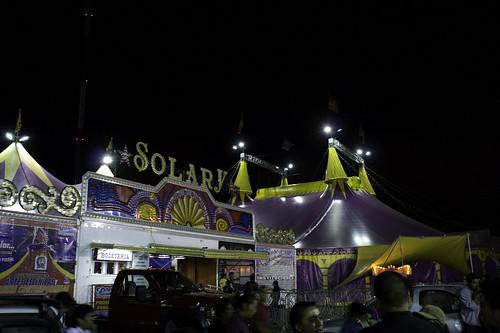 Afuera del circo