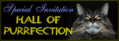 Hall of Purrfection Invitation (by Bakko Brats)