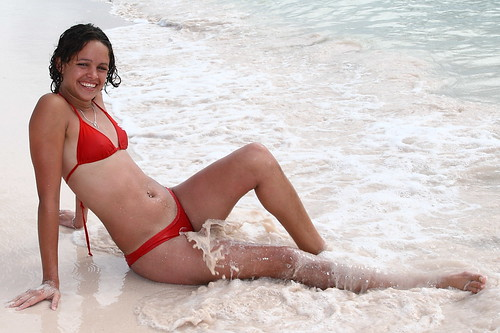 : bikini, girl, cuba, chica, beach, playa