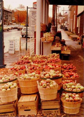 Bushels of Apples at Baughman's