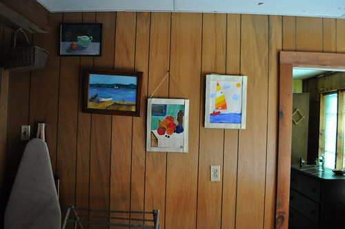 Kid Art at Ringe Lake House