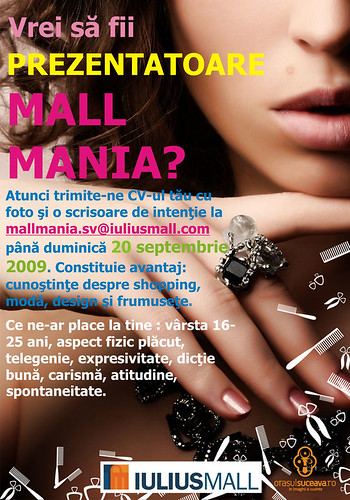 1–20 Septembrie 2009 » Preselecţie Miss Mall Mania