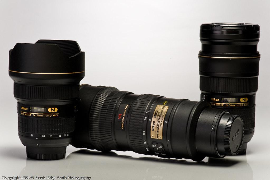 Nikon's Holy Trinity - f/2.8 Zoom Lens!