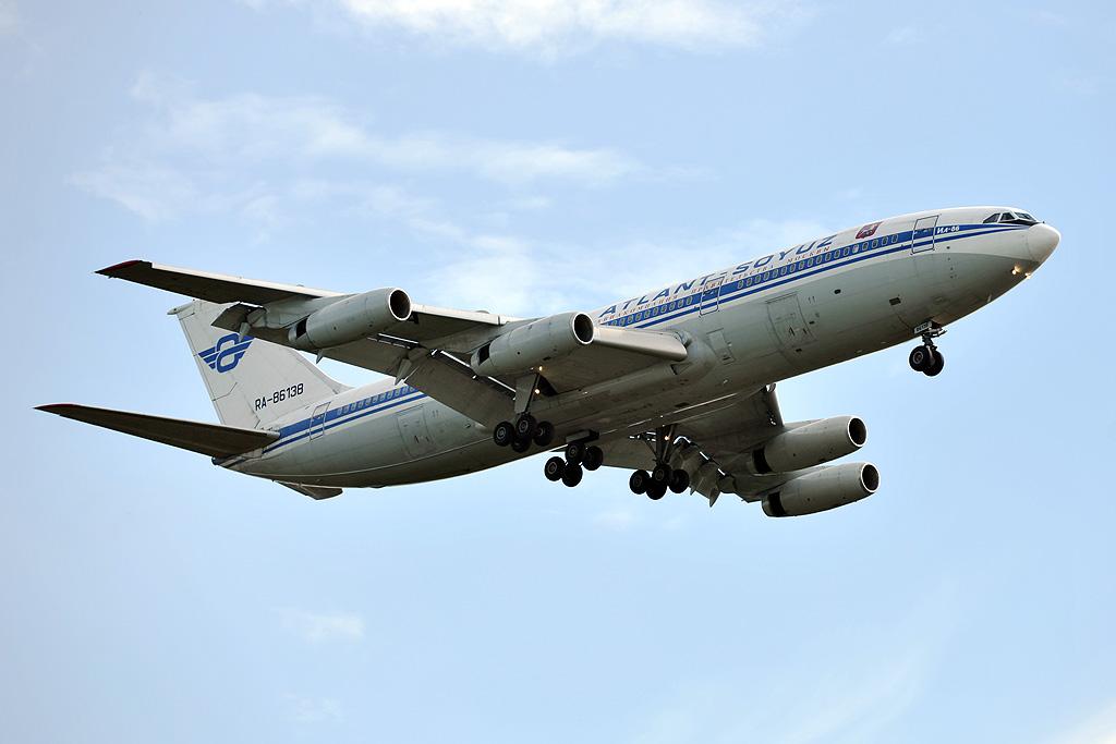Atlant-Soyuz Airlines RA-86138 Ilyushin Il-86