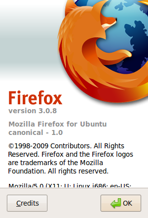 Ubuntu Version of Firefox