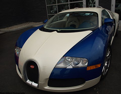 Veyron (Noah Gillard Photography) Tags: blue white cars car insane crazy fast run chp 164 expensive bugatti rare coupe meet calabasas veyron 1199 exlusive milliondollarcar 253mph 1001horsepower