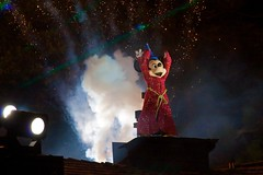 Disneyland Aug 2009 - Fantasmic!
