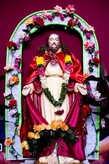 never seen JC happier!  xD (damnsalentino) Tags: india church happy christ jesus lord chiesa pondicherry gesu cieli signore ffffound