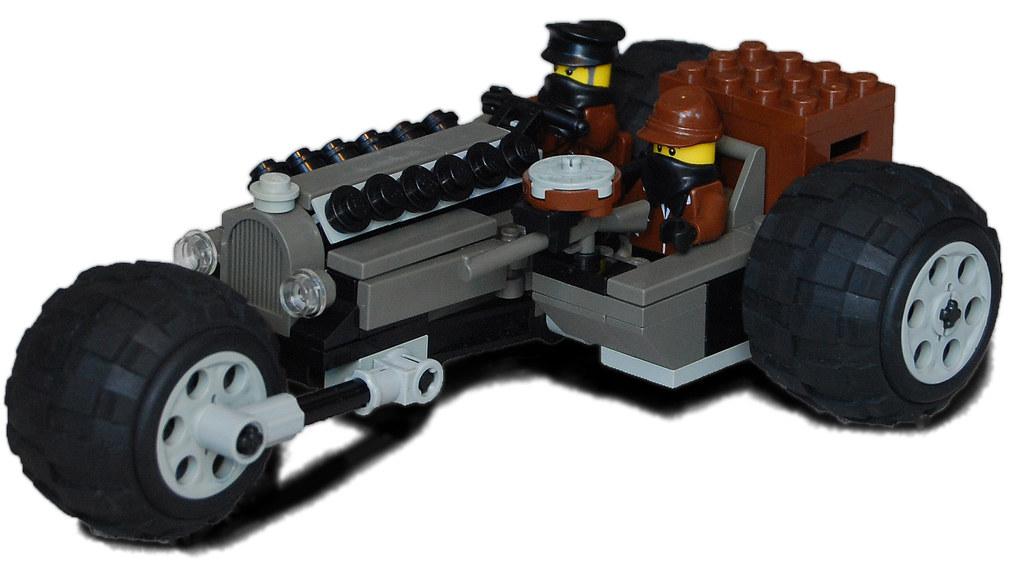 """""""Zebra"""" Heavy Diesel Motorcycle Mk. X (sidecar)"""
