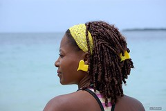 Colombia #1 (Anastasiy Safari) Tags: sea people sun black beach girl yellow hair colombia gente african afro columbia latina afrocolombiana