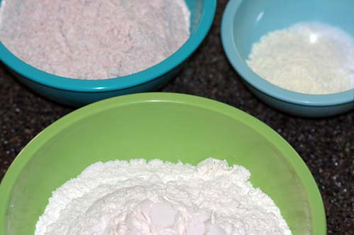 different flours