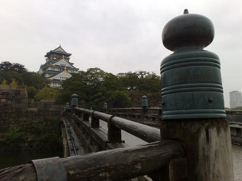 Bridge at Osaka castle