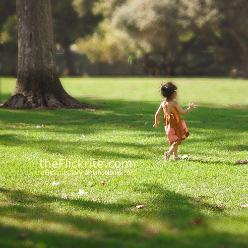 Sophia runs at Griffith Park by www.lancelonie.com, on Flickr