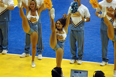 DSC_4783 (bruin805) Tags: cheerleaders ucla bruins danceteam pauleypavilion usctrojans womensvolleyball songgirls spiritsquad yellcrew