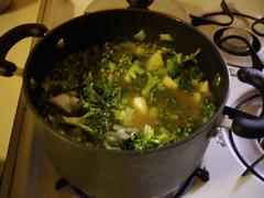 Broccoli Cheddar Soup (kwbridge) Tags: cooking recipe soup broccoli cheddar